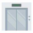 Кожен будинок оснащений надсучасним безшумним ліфтом